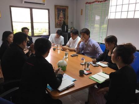 26/04/2561 ประชุมหารือร่วมกับ Housedo Co., Ltd. จากประเทศญี่ปุ่น